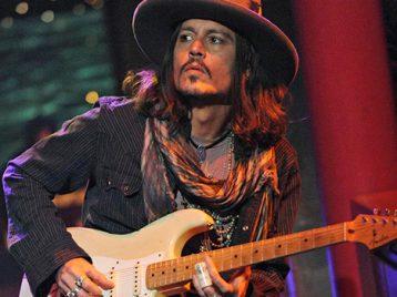 Джонни Депп отказывается от музыкальной карьеры