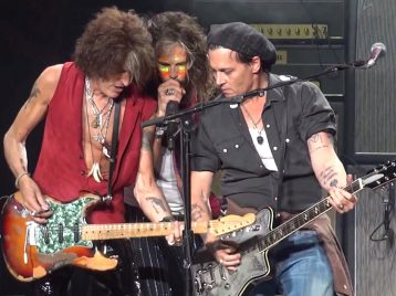 Джонни Депп, Джо Перри и Элис Купер вместе выступят в Рио