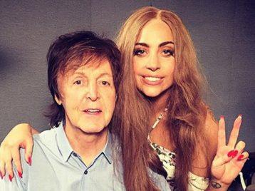 Леди Гага и Пол Маккартни работают над «секретным» проектом