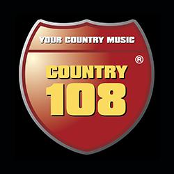 Слушать радио «Сountry 108» онлайн