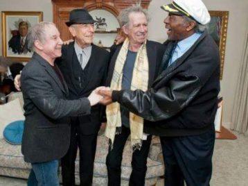 Новый мем: «молодёжь» поздравляет Чака Берри с 90-летием