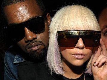 Поддержи падающего: Леди Гага заступилась за Канье Уэста
