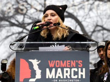 Администрации Трампа не понравилось, что Мадонна говорит о «взрыве Белого дома»