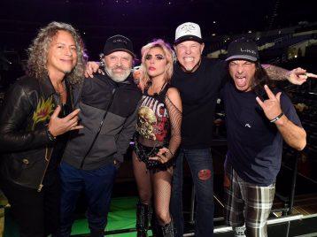 Папаша Хэтфилд из «Metallica» против юной Гаги: кто кого?