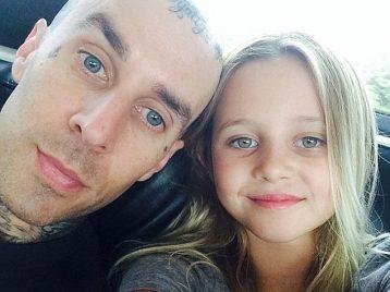 Барабанщик «Blink-182» снялся в рекламе вместе с дочерью