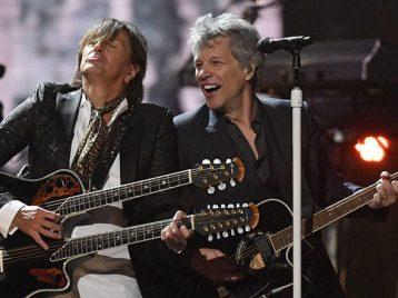 Теперь мы в Зале славы: «Bon Jovi» приняли участие в торжественной церемонии