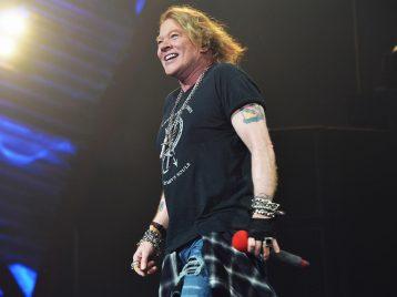 У нас нет президента: Эксл Роуз из Guns N'Roses выступил против Дональда Трампа
