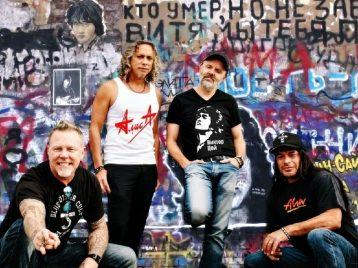 Groupah krovee: Metallica и«Кино» стали «братьями погруппе крови»