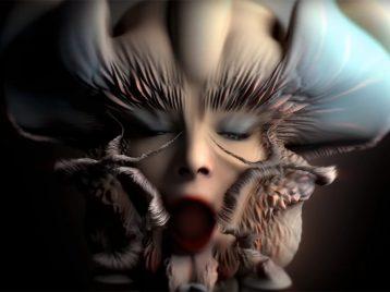Цифровая чувственность: Бьорк выпустила очередное футуристичное видео