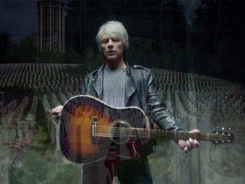 Людям иживотным наслужбе: Bon Jovi выпустил клип Unbroken