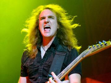 Megadeth распрощались сбасистом