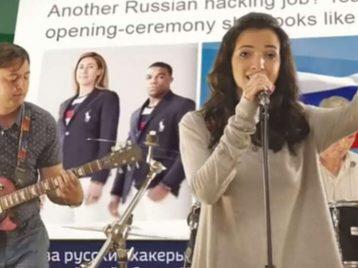 Группа из Красноярска сняла клип, посвященный российским олимпийцам