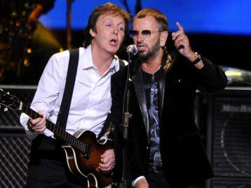 Как в старые времена: Пол Маккартни и Ринго Старр сходили на концерт