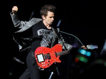 «Muse» споют в воздухе