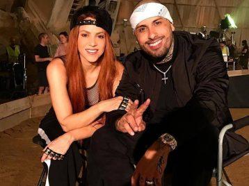 Очередной дуэт: Шакира выпустила клип с Никки Джэмом