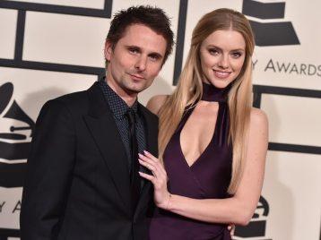 Снова обручен: Мэттью Белами из группы «Muse» сделал предложение своей избраннице