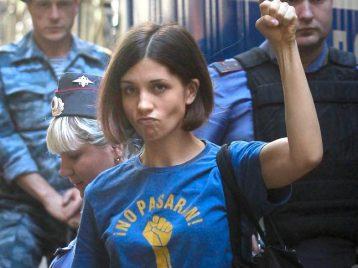 «Pussy riot» выпустили клип о выборах