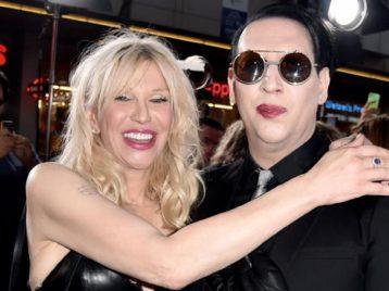 В новом клипе «Marilyn Manson» появится Кортни Лав