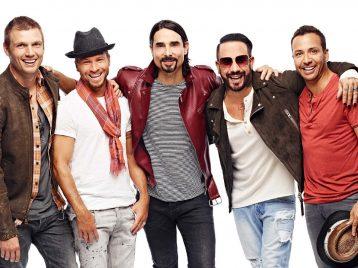 Backstreet boys познакомили поклонников со своими семьями