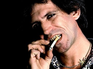 Кит Ричардс из Rolling stones: легче бросить героин, чем сигареты