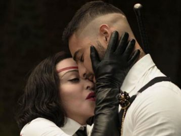 Движущаяся мишень: Мадонна сняла танцевальный клип Medelline