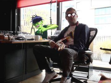 Вновом клипе Gorillaz стирают грань между мультфильмом иреальностью