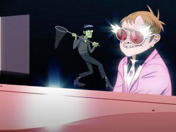 Элтон Джон записал песню с Gorillaz