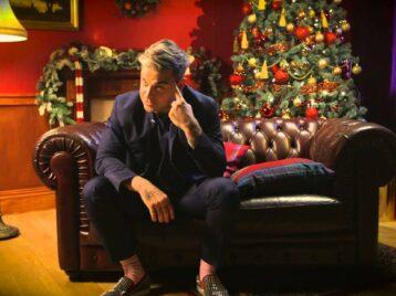 Робби Уильямс написал песню отом, что рождество неостановить